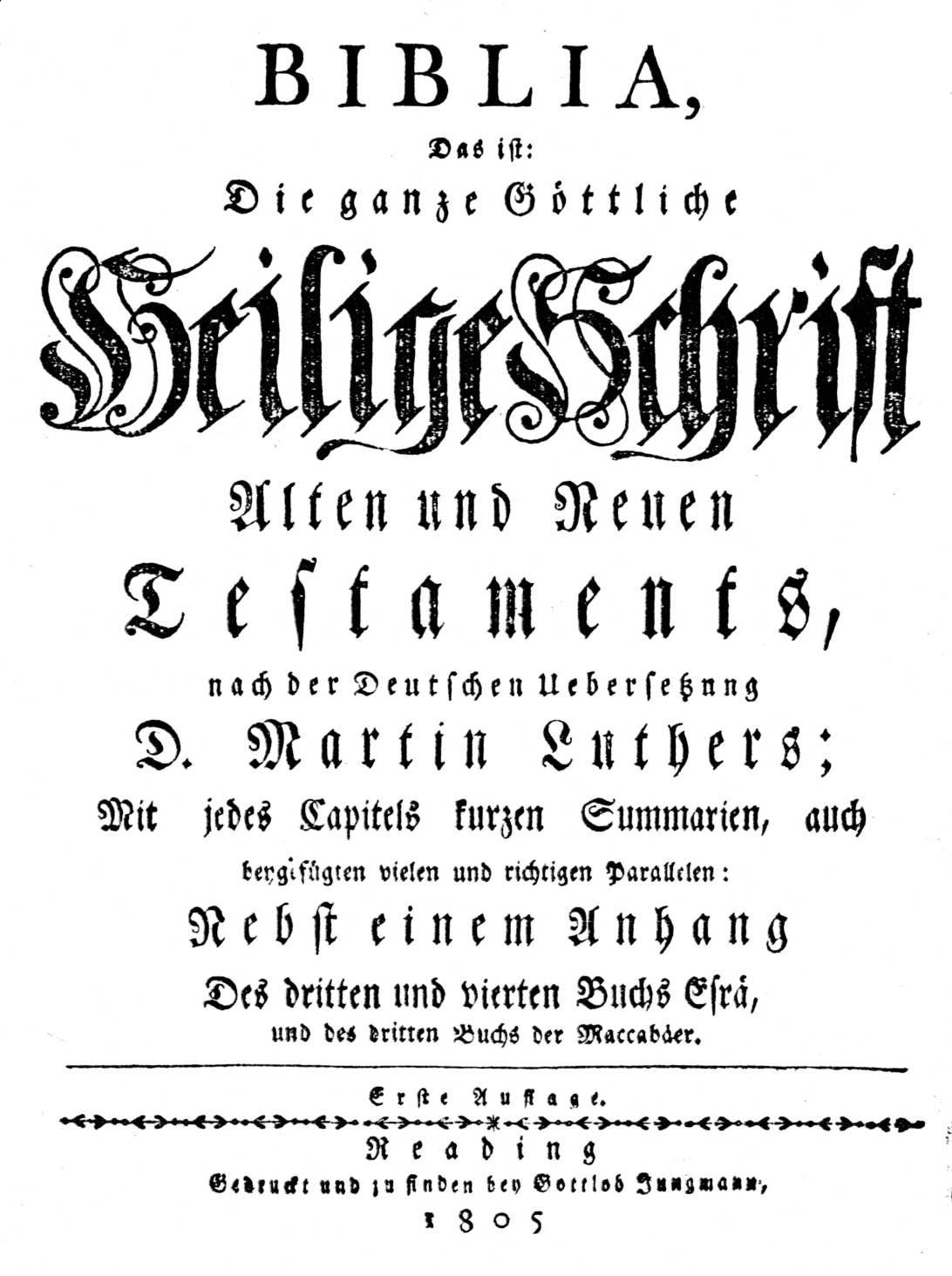 1805 Abraham Mumma Bible